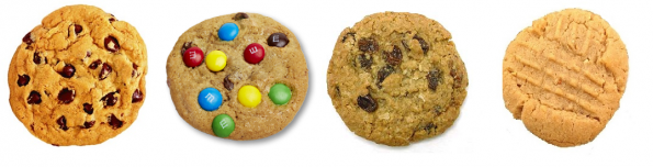 Our cookie selection