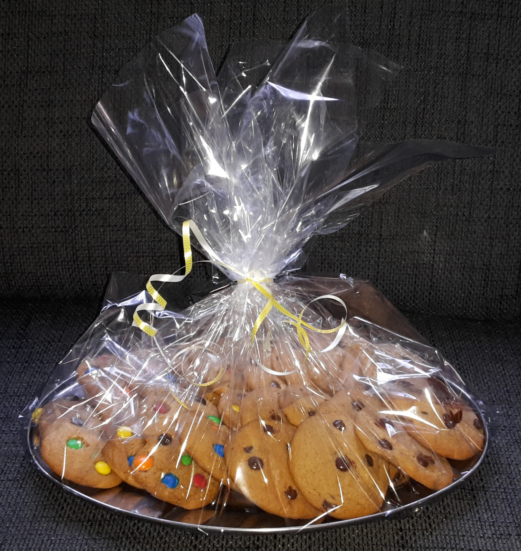 party cookies on a tray